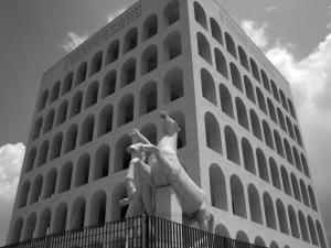 Giovanni Guerrini, Ernesto La Padula und Mario Romano: Palazzo della Civiltà Italiana (1937-53). Foto: Privat.
