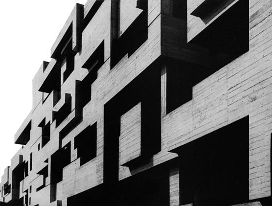 Brutalismus luigi monzo for Architektur brutalismus