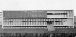 Ignazio Gardella: Dispensario antitubercolare, Alessandria (1938). Foto: Pica 1941, S. 218.