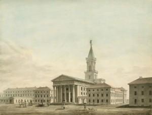Evangelische Stadtkirche Karlsruhe, 1808.